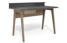 Bevel Compact Desk in Drift Oak