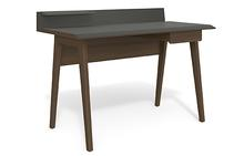 Bevel Compact Desk in Toasted Walnut