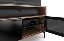 Cavo Double Media Stand in Walnut