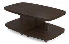 Muv Motion Table in Toasted Walnut