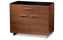 Sequel Storage Cabinet - Natural Walnut