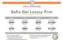 Sofia Gel Luxury Firm Mattress