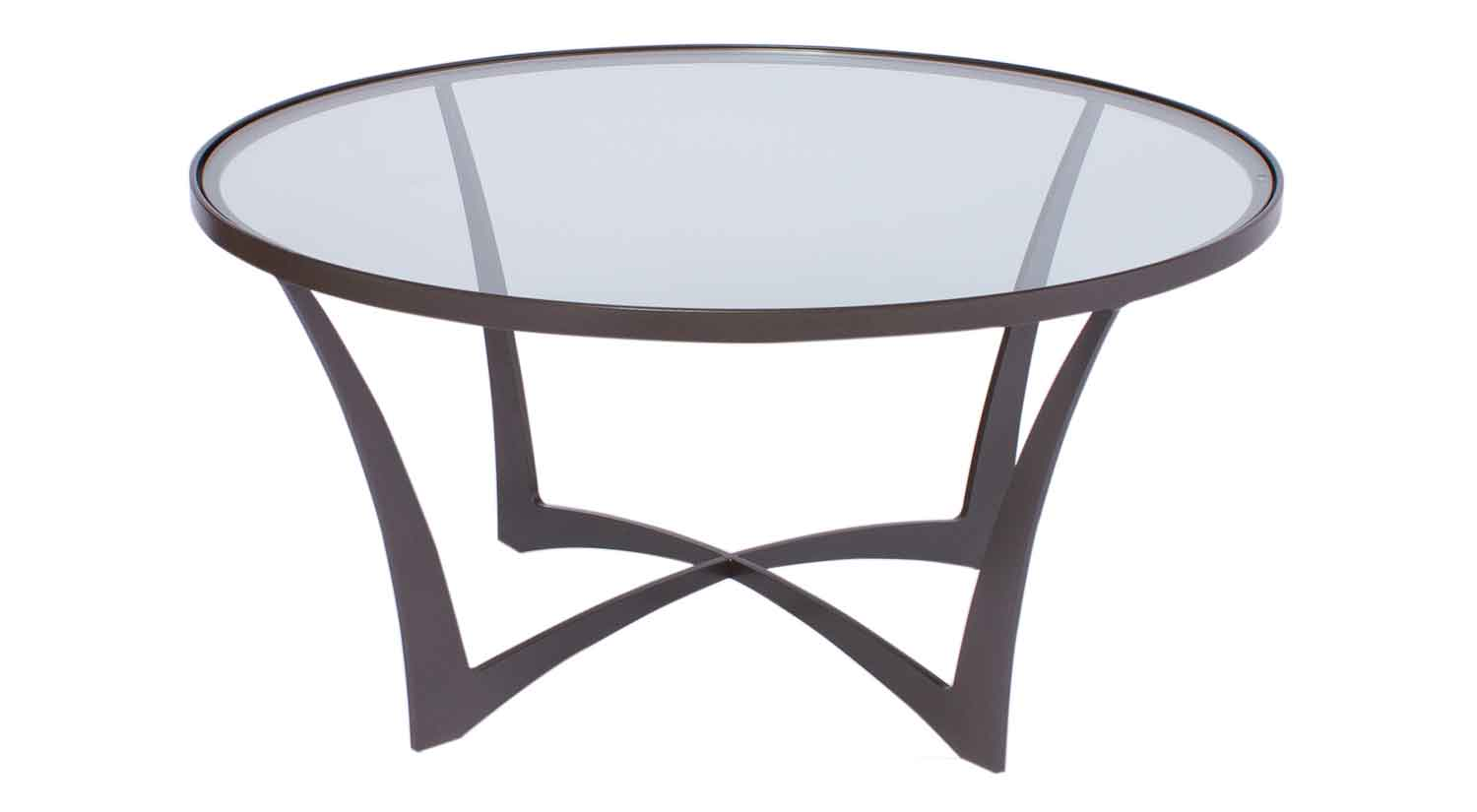 Circle furniture lotus cocktail table accent tables cambridge lotus cocktail table geotapseo Images