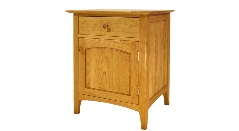 Cambridge One Drawer One Door Nightstand  sc 1 st  Circle Furniture & Circle Furniture - Cambridge One Door Nightstand   Dressers Acton