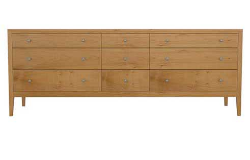 Franklin 9 Drawer Dresser