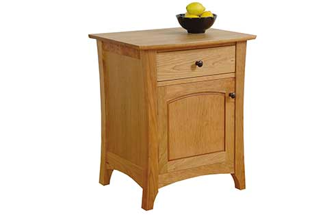 Verdana One Drawer One Door Nightstand