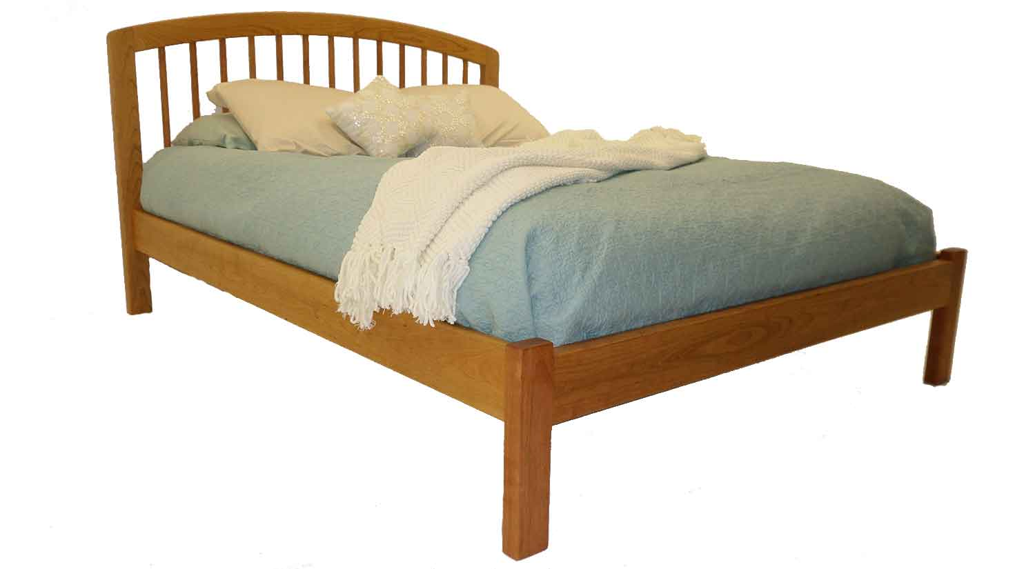 Hanover Bed with Low Footboard