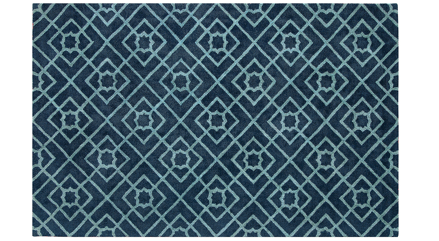 Diamond Lattice Rug