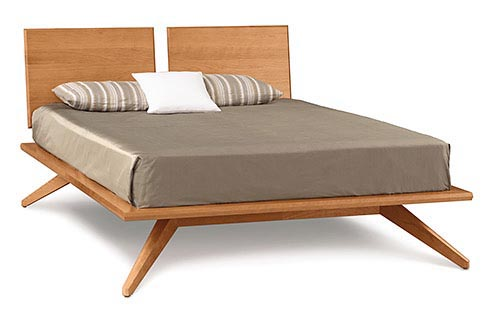 Astrid Bed with 2 Panel Headboard