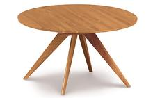 Catalina Round Extension Table in Natural Cherry