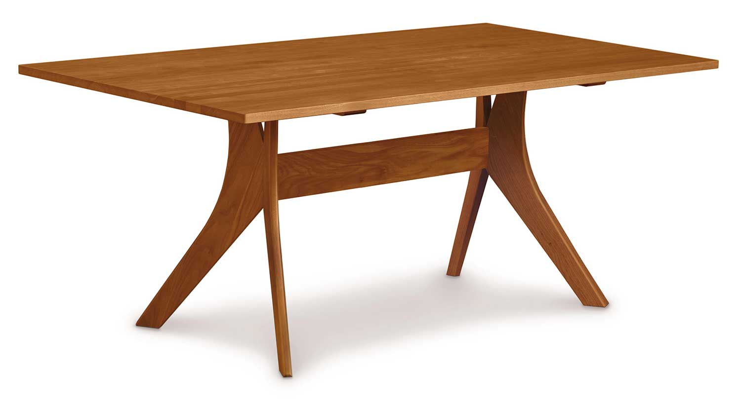 Circle Furniture Audrey Dining Table Fixed Top Table Dining - Circular dining table with extension