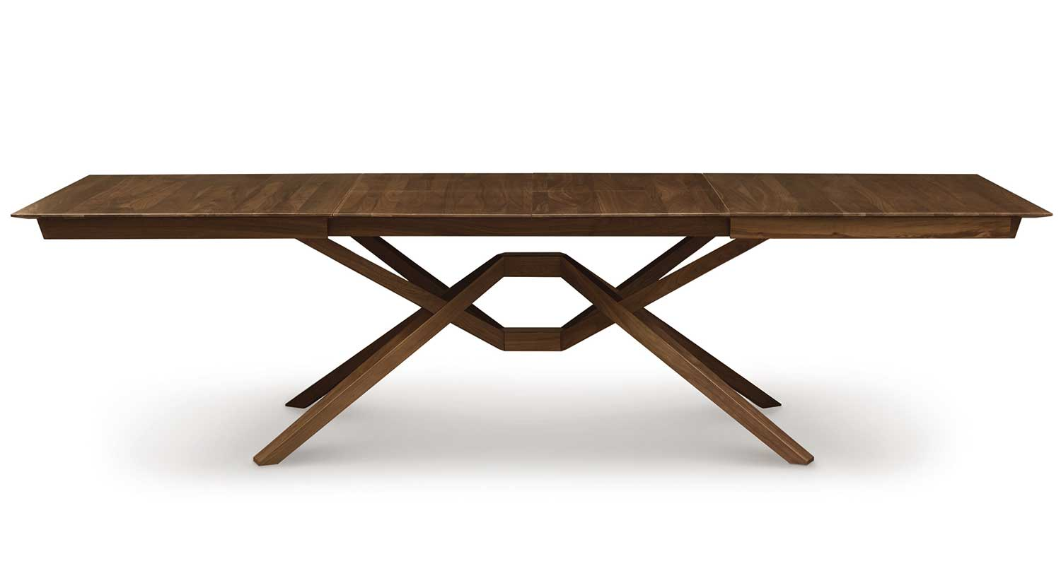 Circle Furniture - Exeter Dining Table | Self Storing Leaves ...