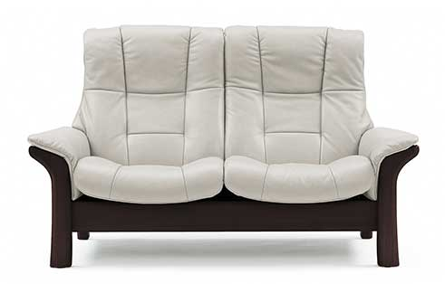Buckingham Stressless Highback Loveseat