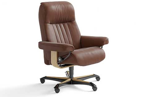 Crown Stressless Office Chair