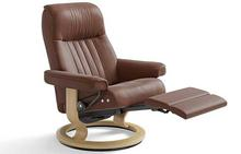 Crown Stressless Recliner with Leg Comfort