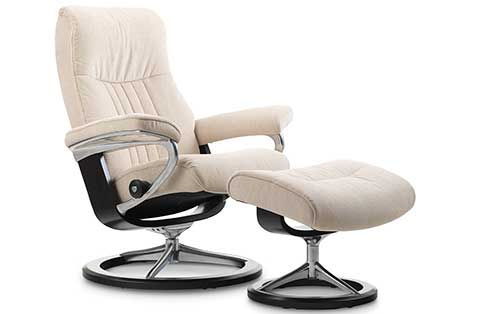 Crown Stressless Chair and Ottos Signature