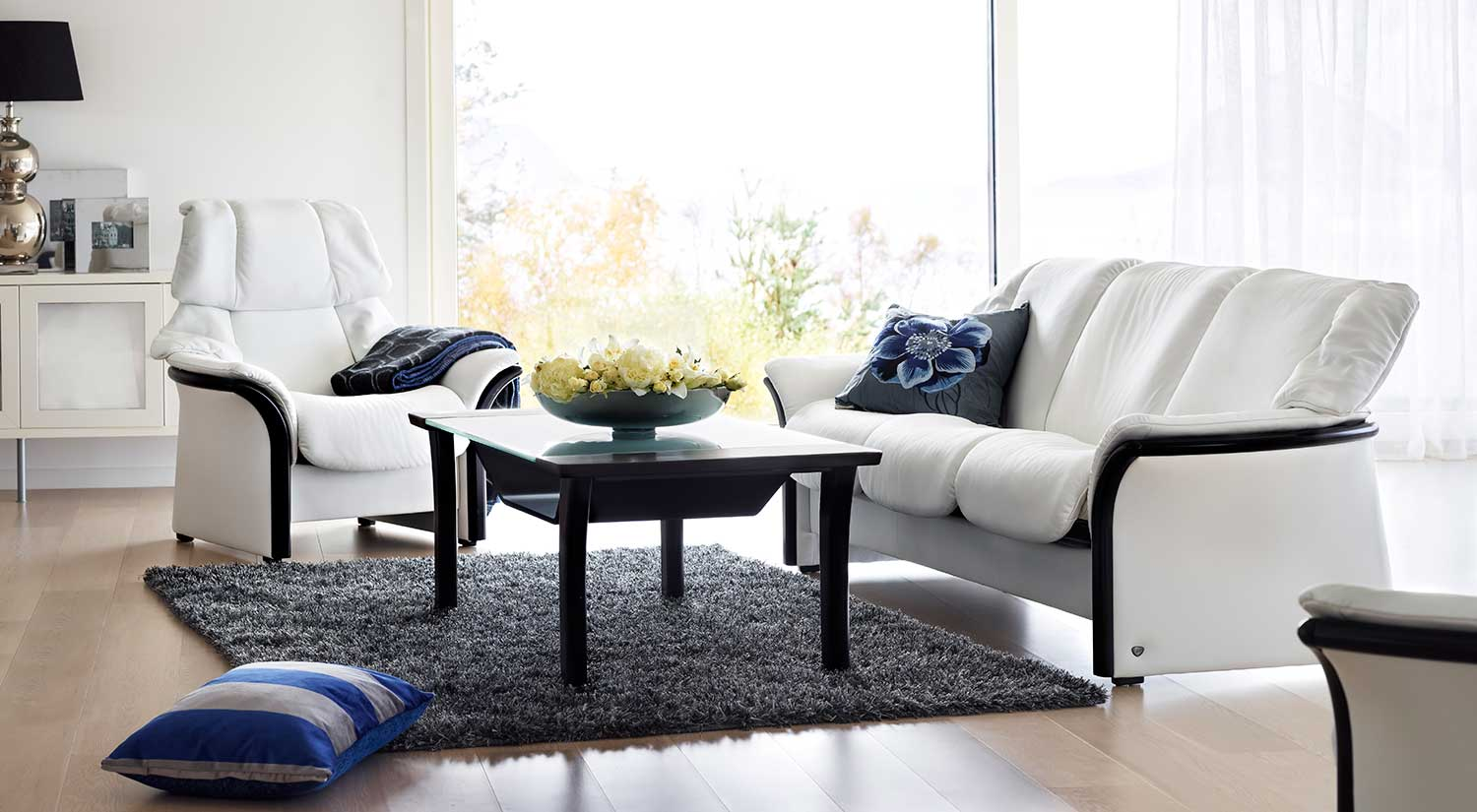 Circle Furniture Eldorado Stressless Lowback Sofa