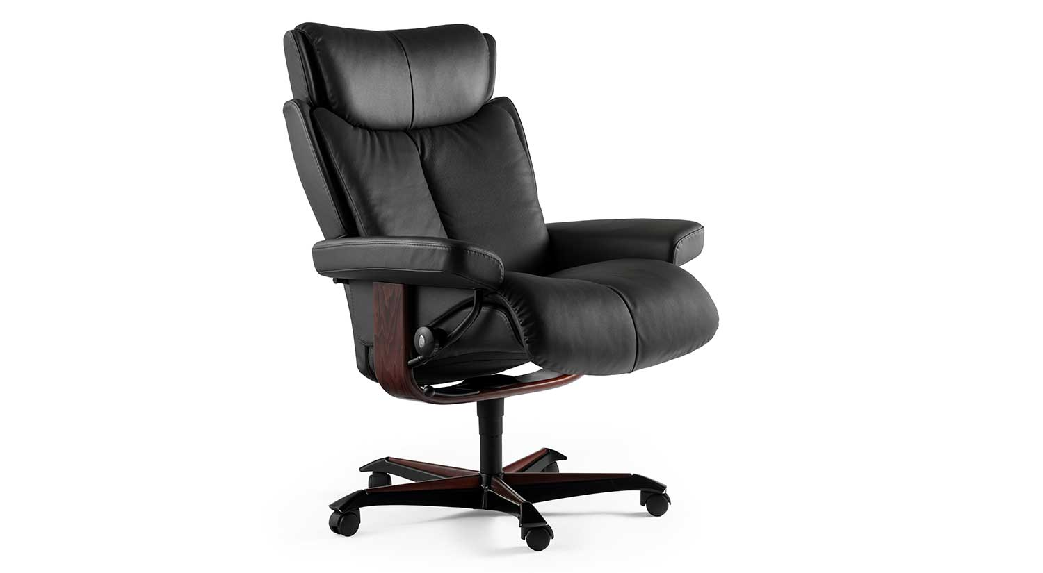 circle furniture stressless magic office chair ekornes. Black Bedroom Furniture Sets. Home Design Ideas