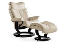 Magic Stressless Chair and Ottoman