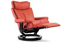 Magic Stressless Recliner with Leg Comfort