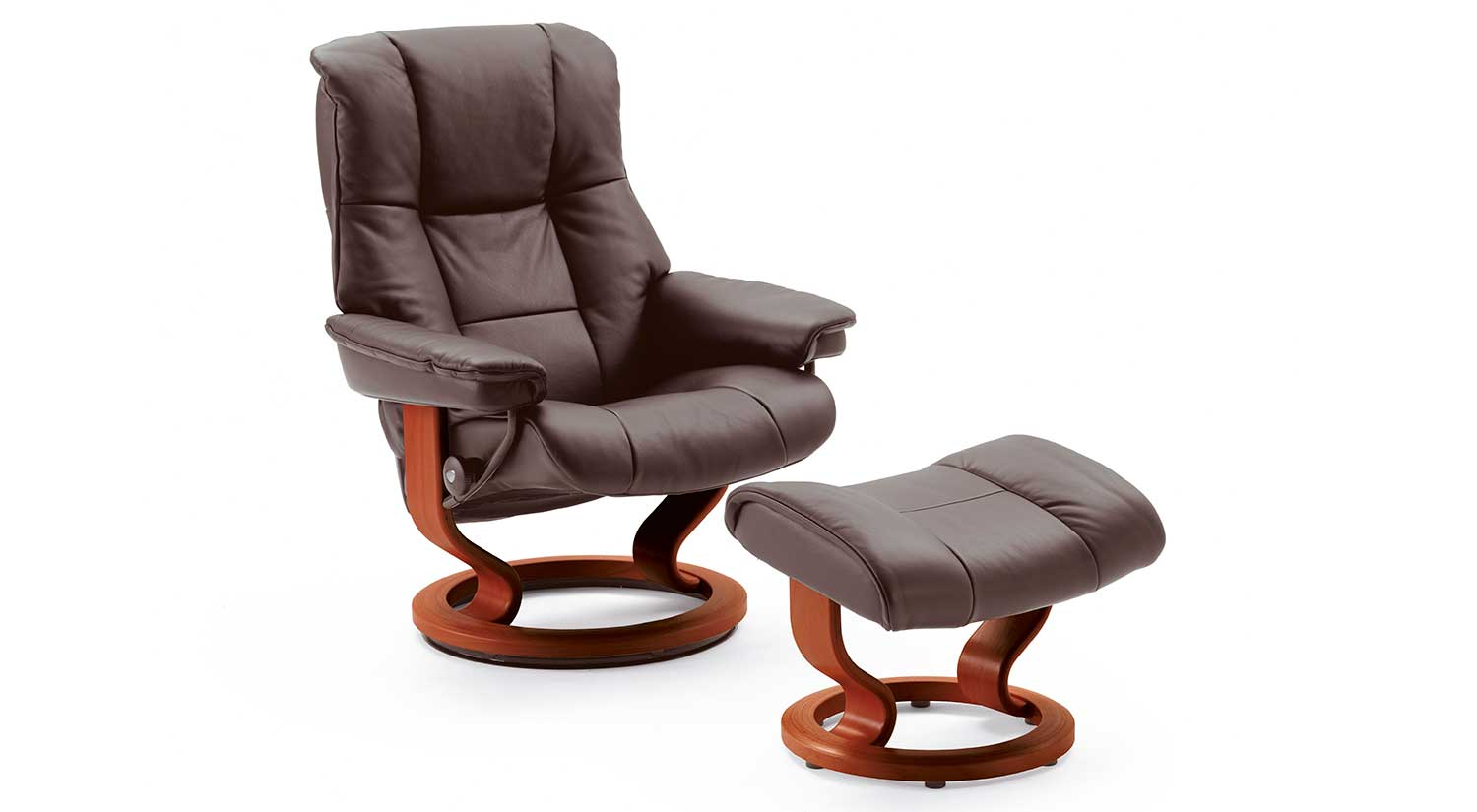 Mayfair Stressless Chairs and Ottomans