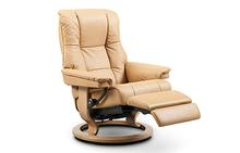 Mayfair Stressless Recliner with Power Leg & Back
