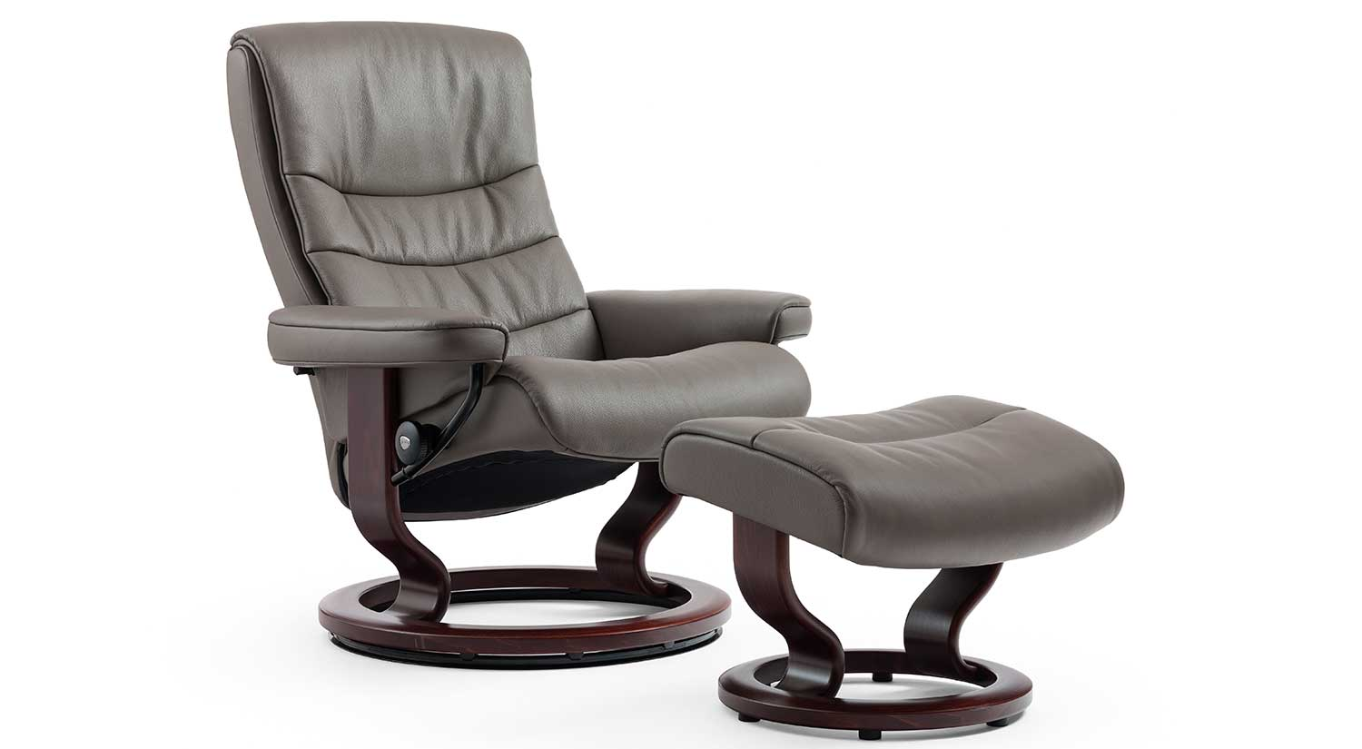 Circle Furniture Nordic Stressless Chair Leather Chairs And