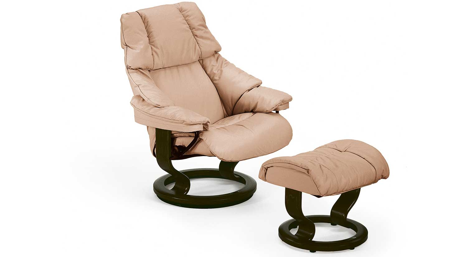 Reno Stressless Chair and Otto