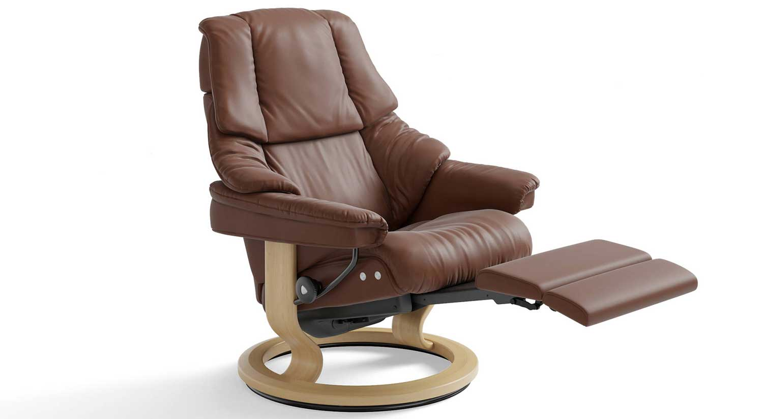 Reno Stressless Recliner with Leg Comfort
