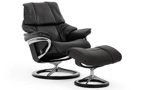 Reno Stressless Chair and Otto Signature