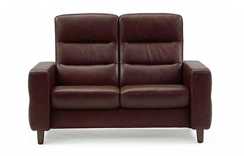 Wave Stressless Highback Loveseat