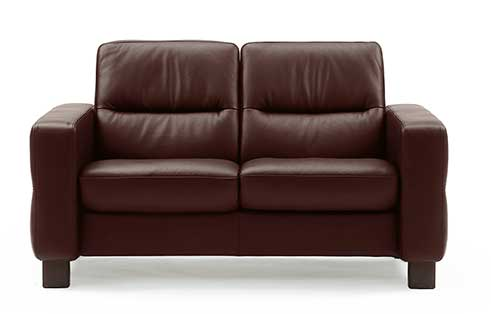 Wave Stressless Lowback Loveseat