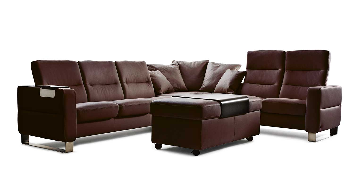 circle furniture wave stressless sectional ekornes sofas circle furniture. Black Bedroom Furniture Sets. Home Design Ideas