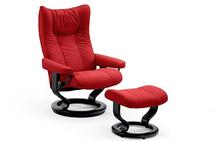 Wing Stressless Chair and Ottoman