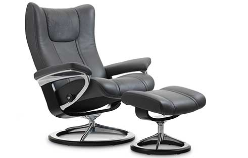 Wing Stressless Chair and Otto Signature