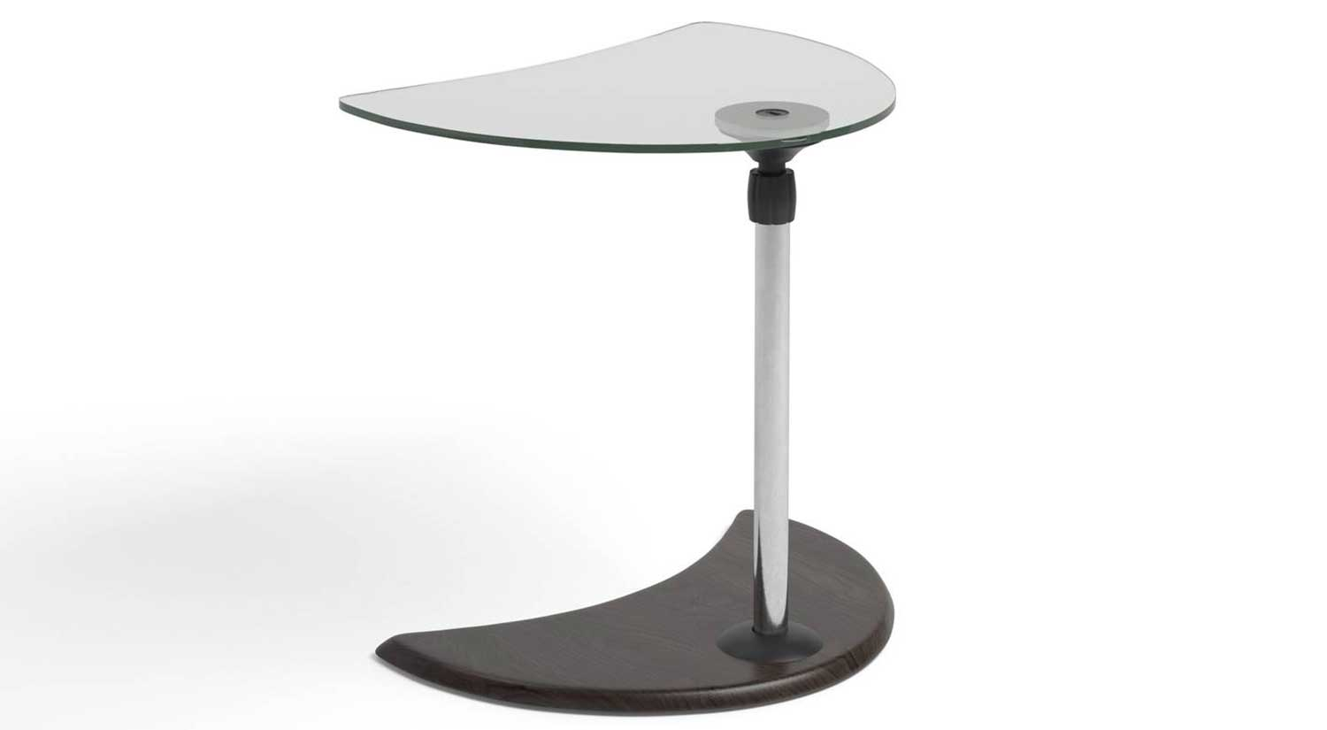 Alpha Side Table - Glass Top