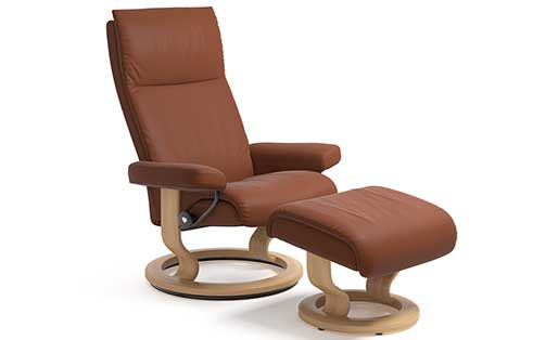 Aura Stressless Chair and Otto