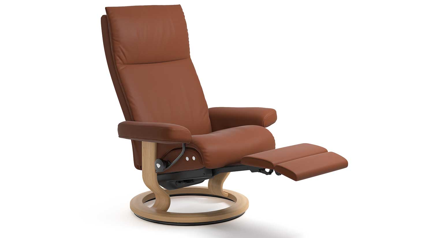 Aura Stressless Recliner with Leg Comfort