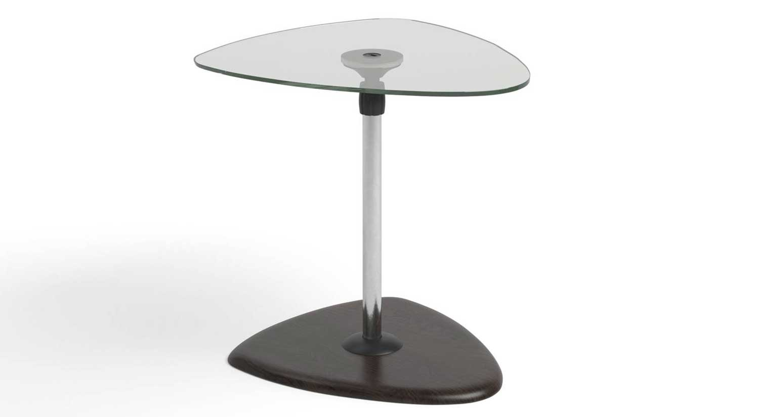 Beta End Table - Glass Top
