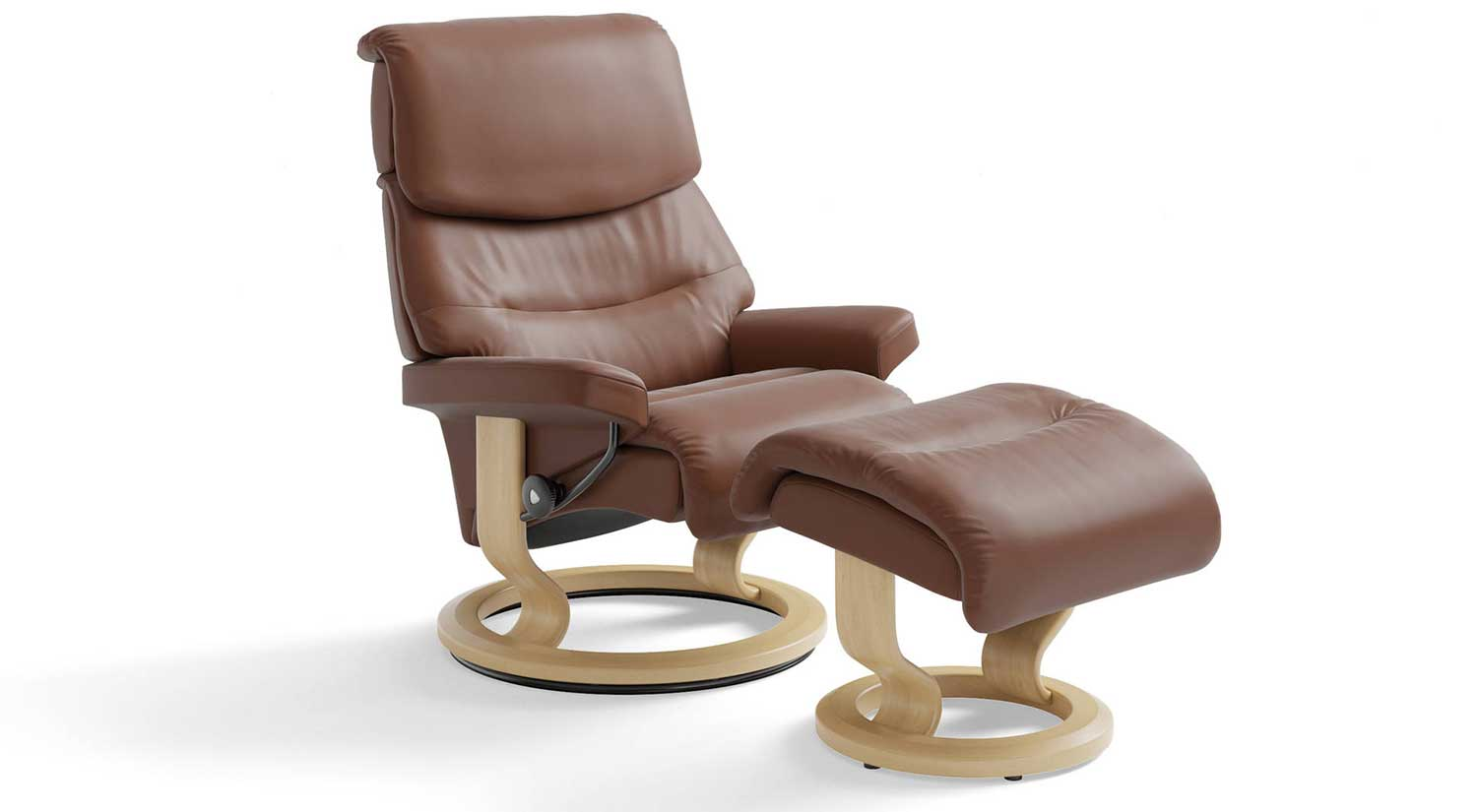 Capri Stressless Chair and Otto