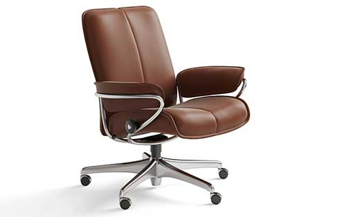 City Stressless Lowback Office Chair