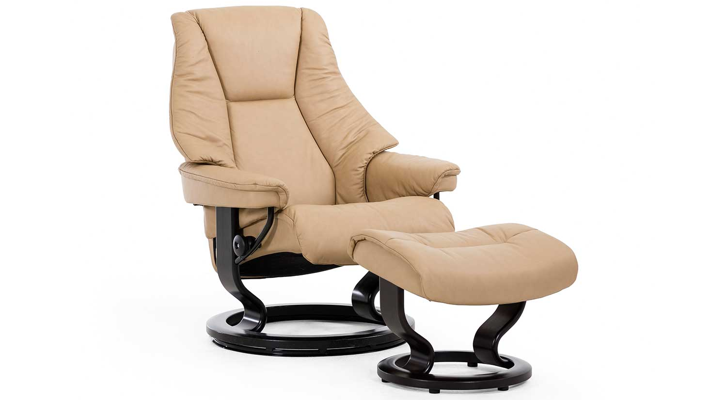 Live Stressless Chair and Ottoman