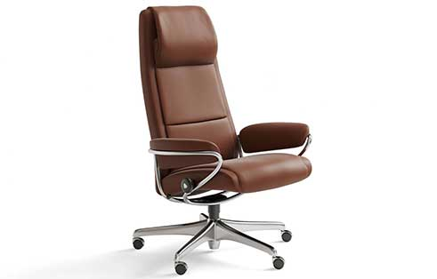 Paris Stressless Highback Office Chair