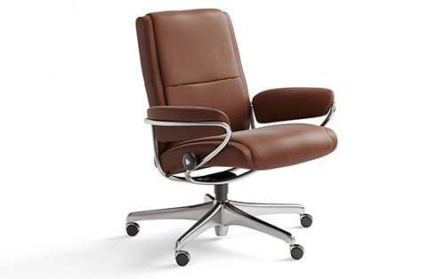 Paris Stressless Lowback Office Chair