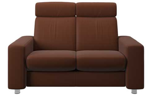 Pause Stressless Highback Loveseat