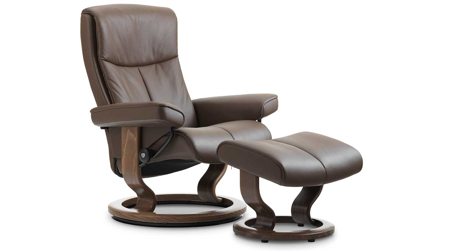 Peace Stressless Chair and Ottoman