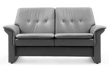 Saga Stressless Buttoned Lowback Loveseat