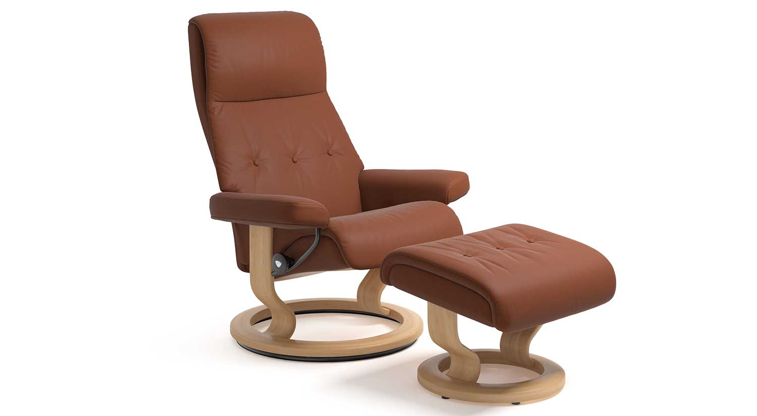 Sky Stressless Chair and Ottoman