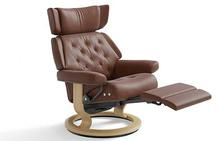 Skyline Stressless Recliner with Leg Comfort