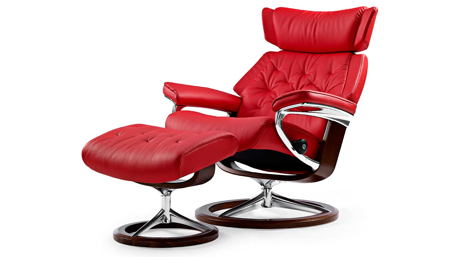 Skyline Stressless Chair and Otto Signature
